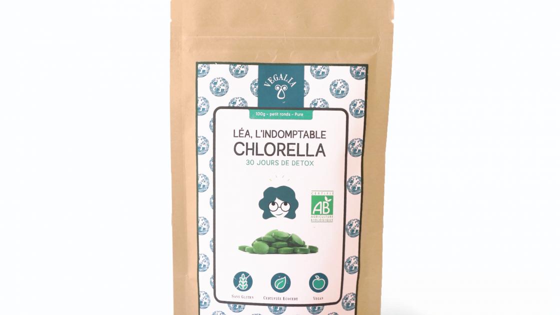 chlorella comprimé