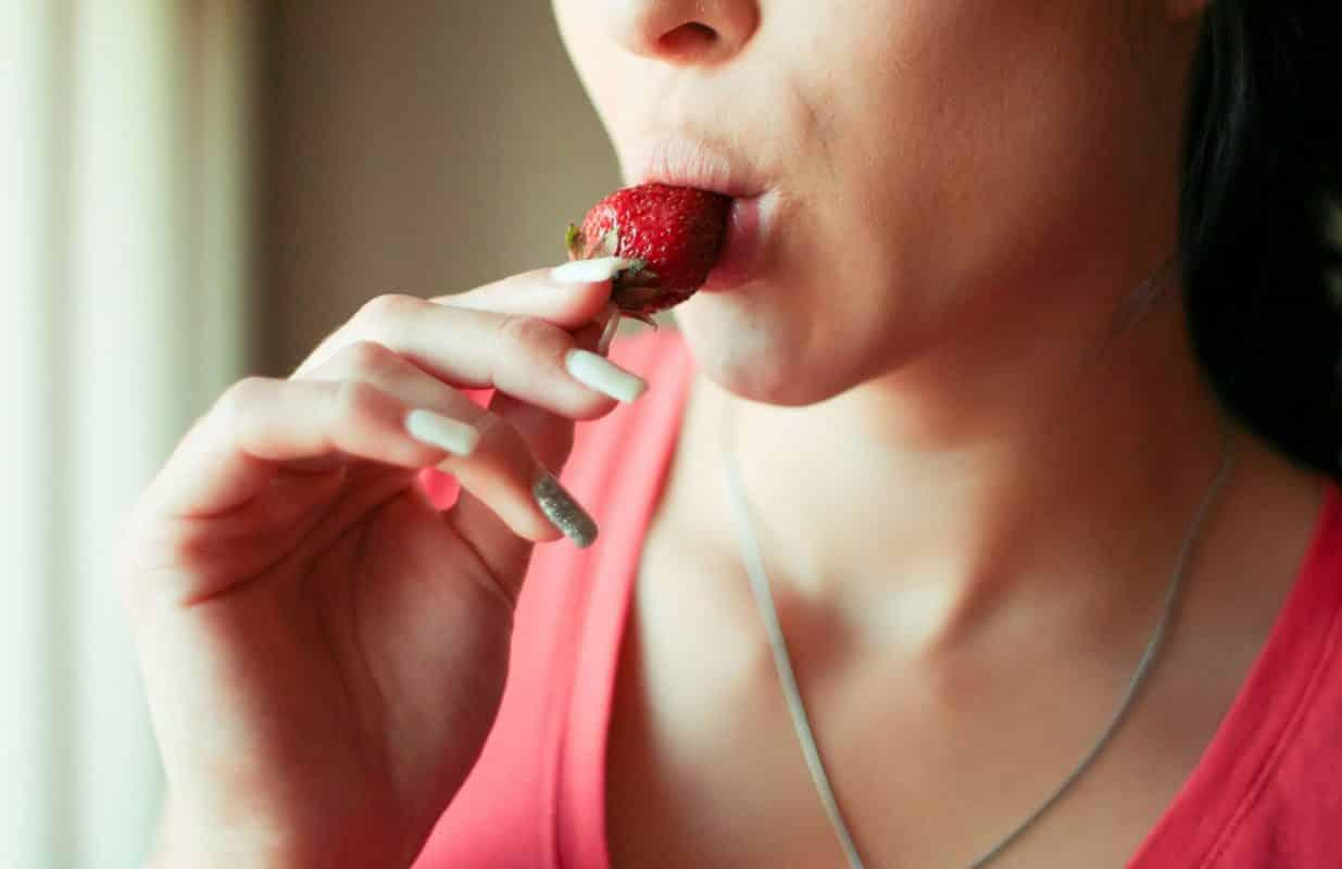 manger fraise