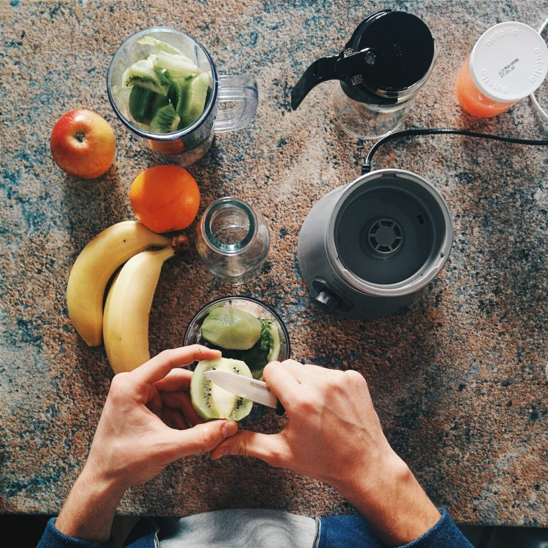 faire un smoothie kiwi