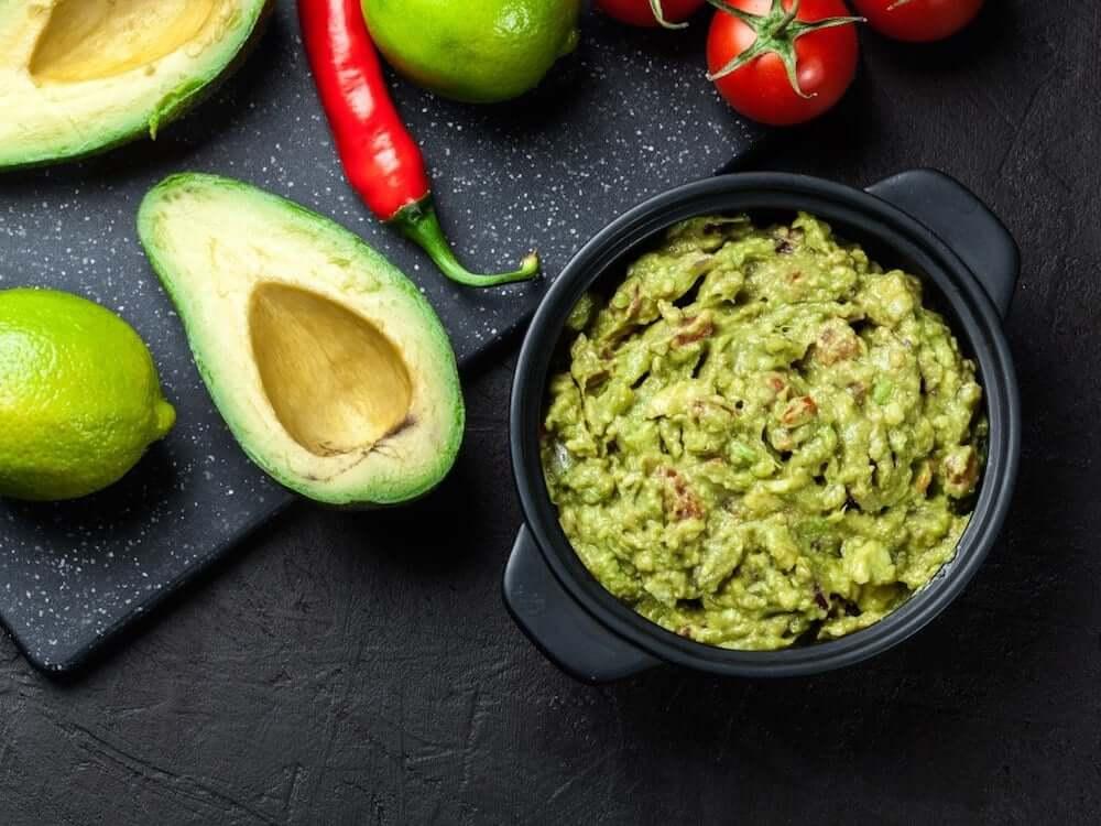 guacamole spiruline