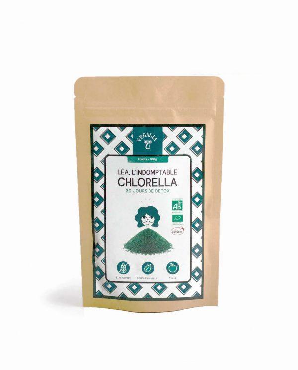 Chlorella en poudre bio